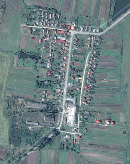 Satellitenansicht von Burgthal aktuell (Google maps).