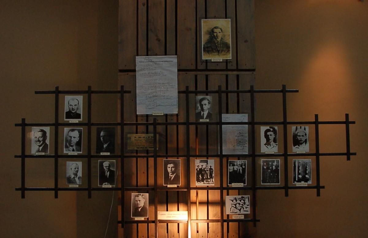 Im Innern der Gedenkstätte