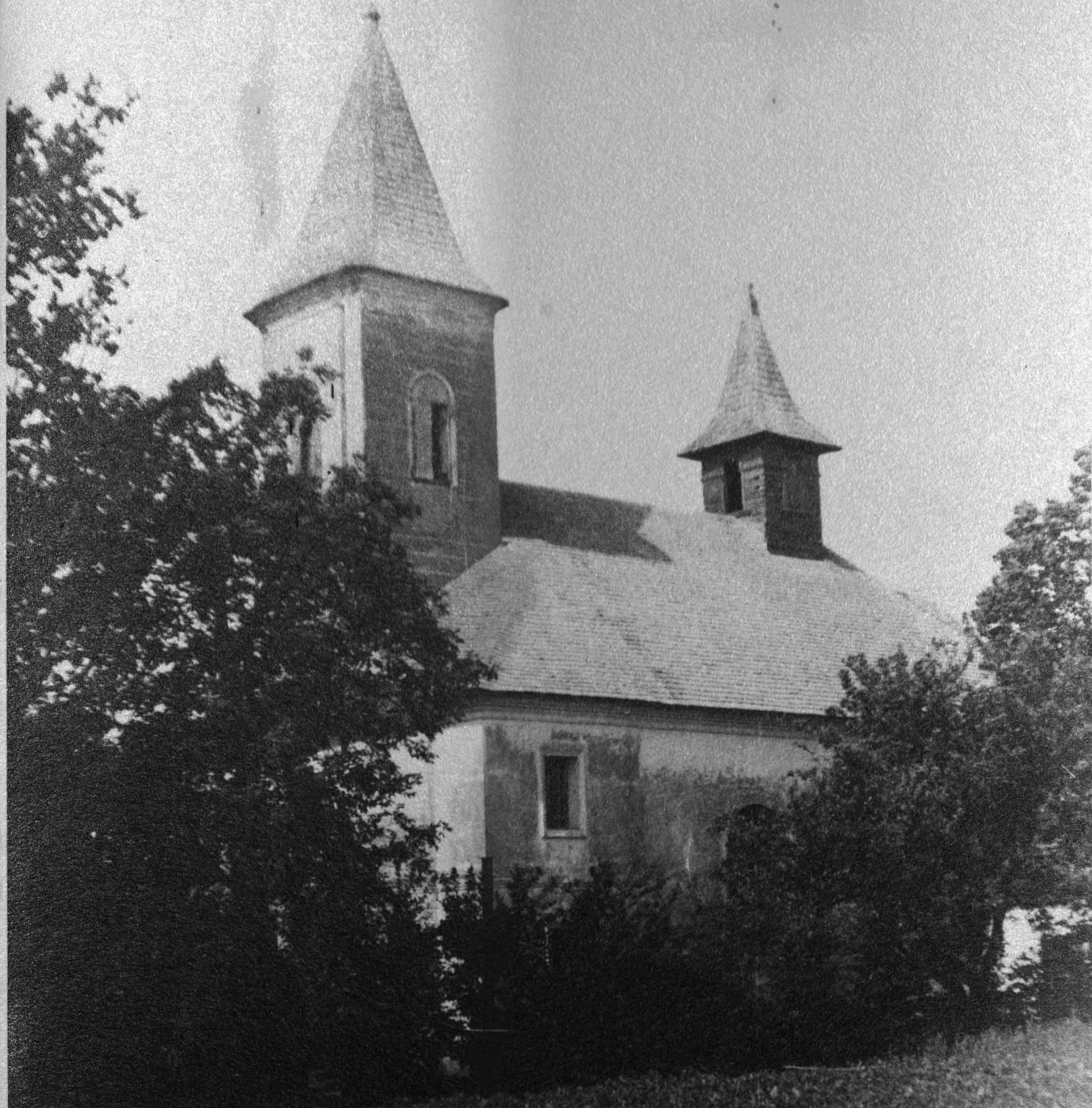 Die katholische Kirche in Münchenthal nach ihrer Errichtung.