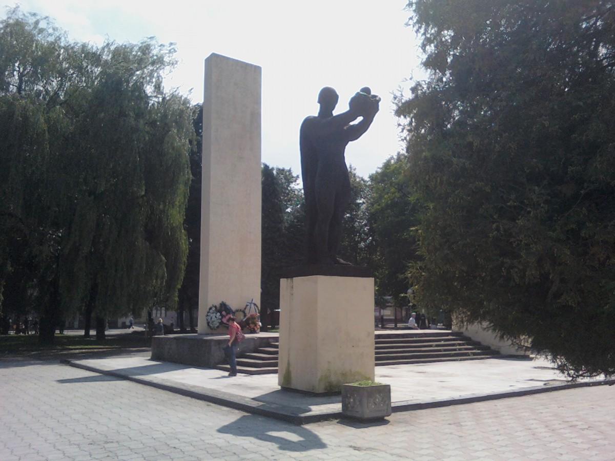 Ein Foto der Statue von 2009