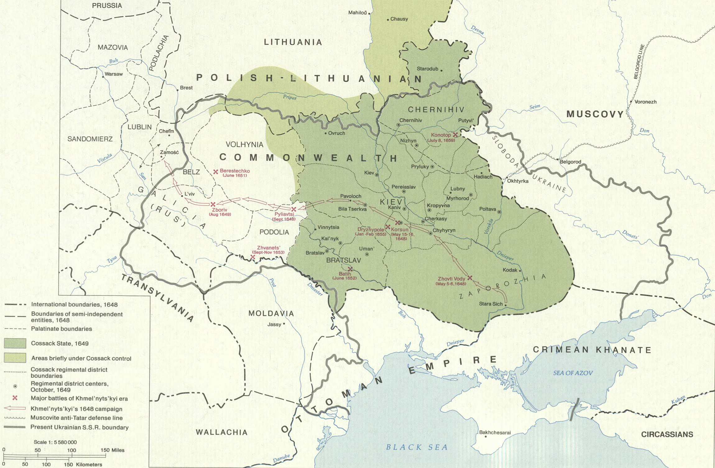 The cossack state after 1649
