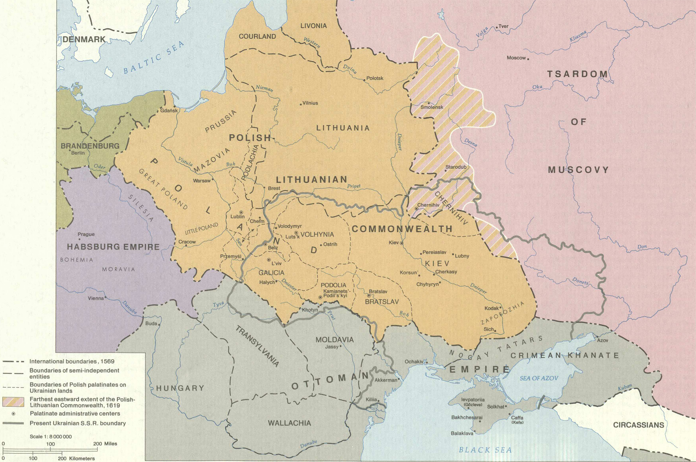Ukrainian Lands after 1569