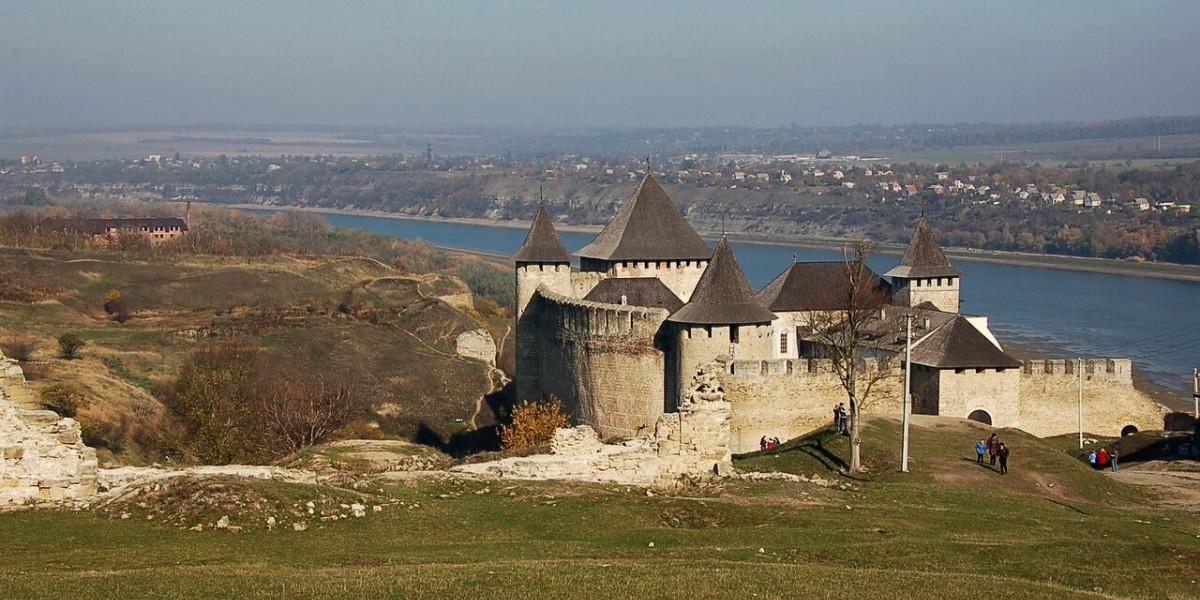 Die Festung Chotyn.